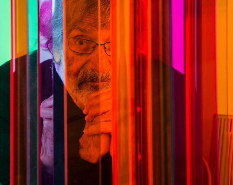 An image of Carlos Cruz-Diez by Lisa Preud'homme