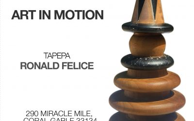 Art in motion presents Ronald Felice