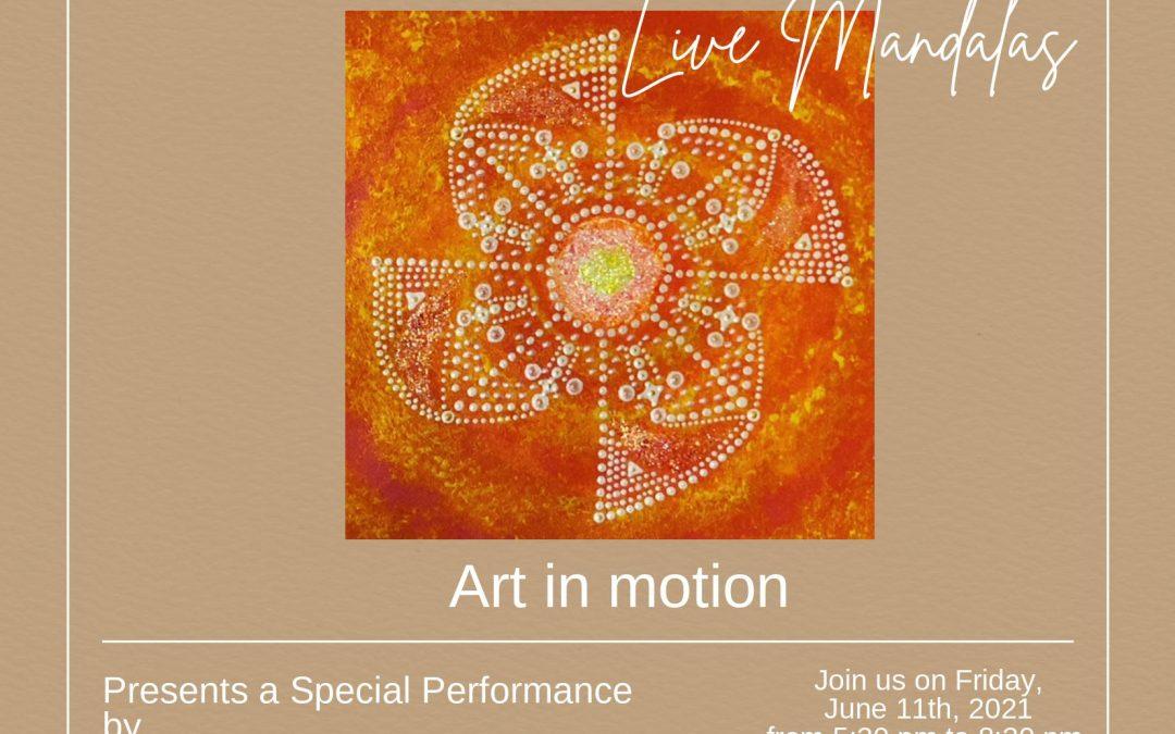 Live Mandalas by Silvia Rosales