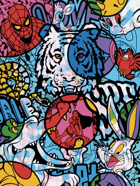 An image of Speedy Graphito's work