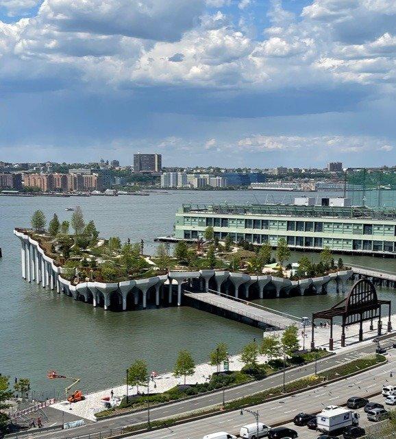 An image of Little Island, New York.